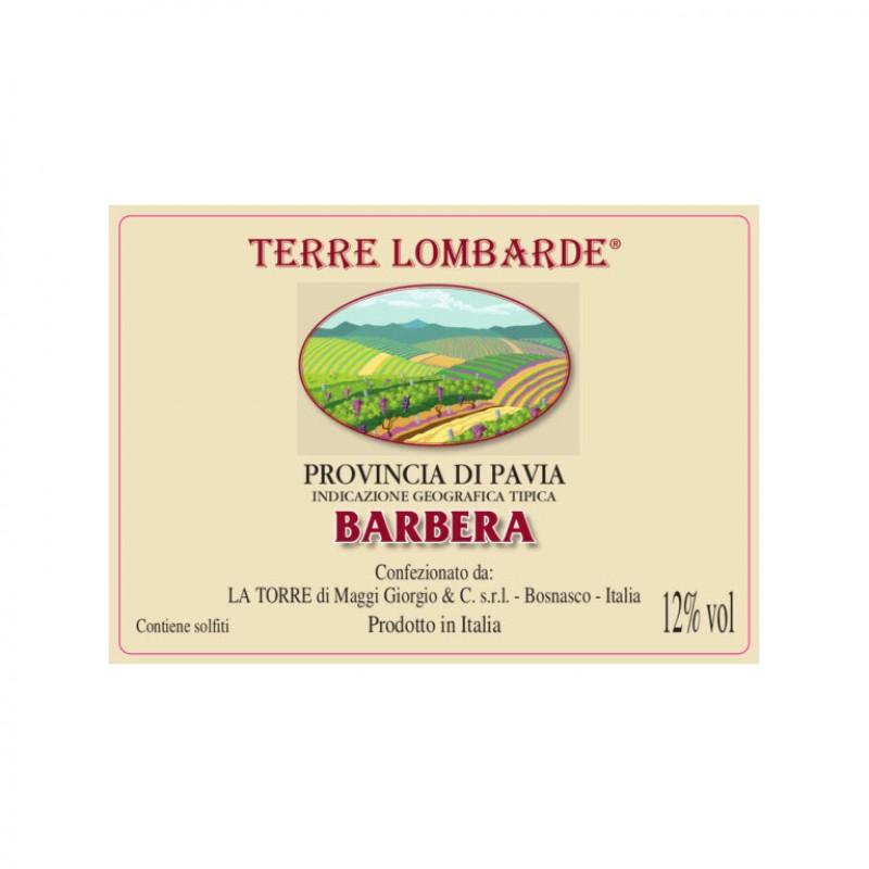 Bag in box vino rosso Barbera della provincia di Pavia IGT – Fermo lt.10
