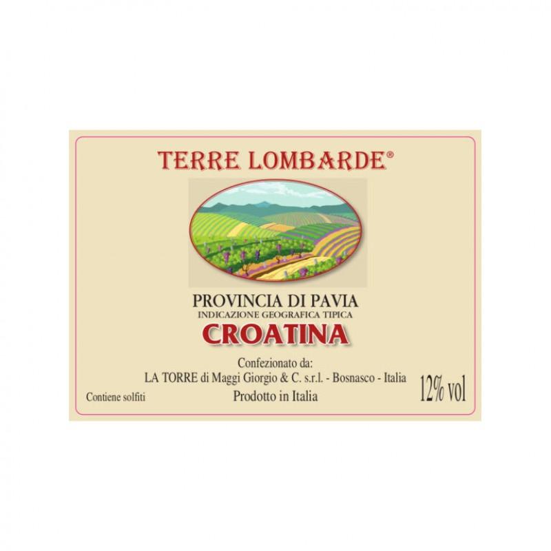 Bag in box vino rosso Croatina della provincia di Pavia IGT – Fermo lt.10