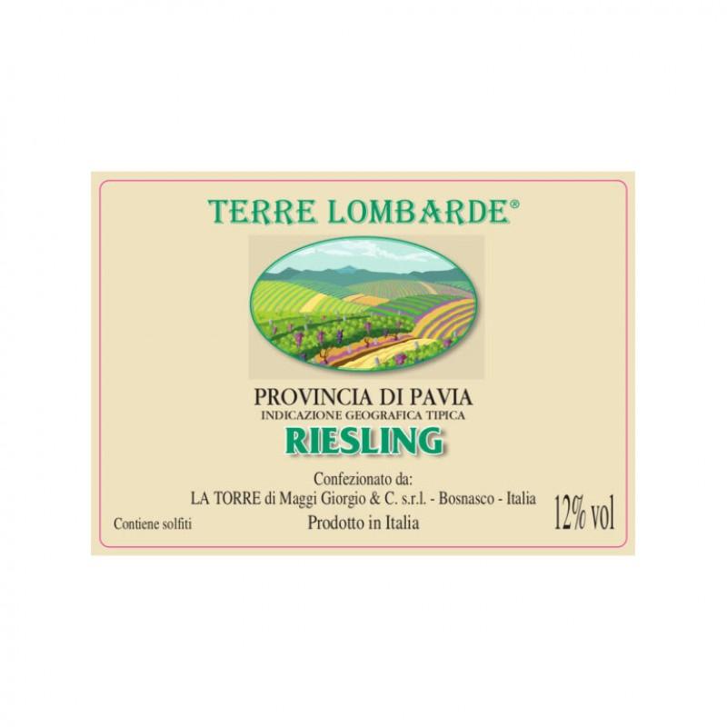 Bag in box vino bianco Riesling della provincia di Pavia IGT – Fermo lt.10